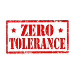 No Tolerance Policy